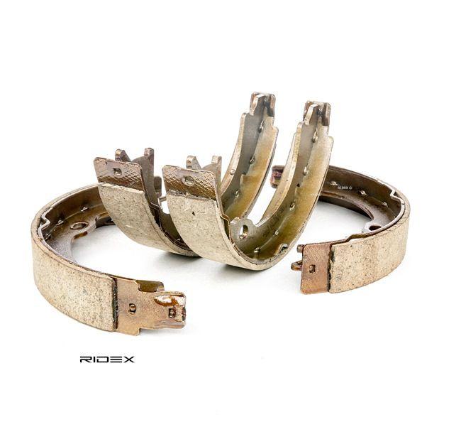 RIDEX Kit freni a tamburo JEEP Assale posteriore, Ø: 207mm