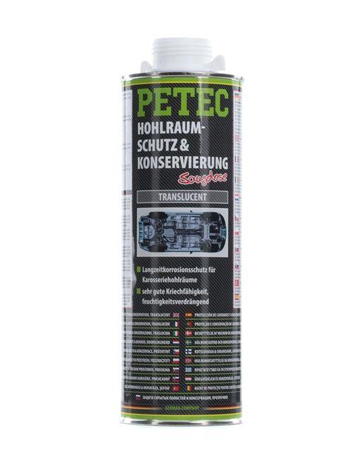 Hohlraumwachs PETEC 73510 für Auto (1l, Dose, plastisch, kriechfähig, weiß-transparent)