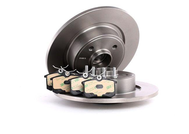 Bremsensatz, Scheibenbremse Bremsscheibendicke: 11mm mit OEM-Nummer 1617250180