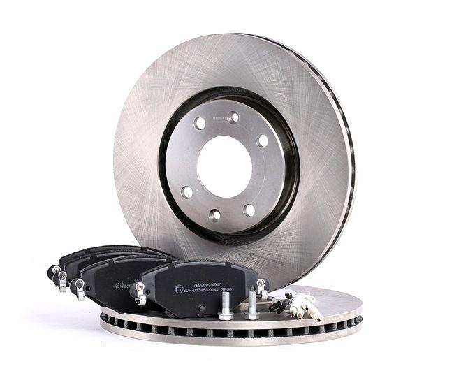Bremsensatz, Scheibenbremse Bremsscheibendicke: 26mm, 17,7mm mit OEM-Nummer 424917