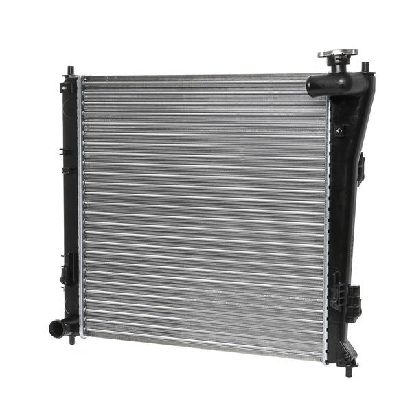 RIDEX Chladič motoru HYUNDAI hliník, Kühlrippen pájený, manuální převodovka