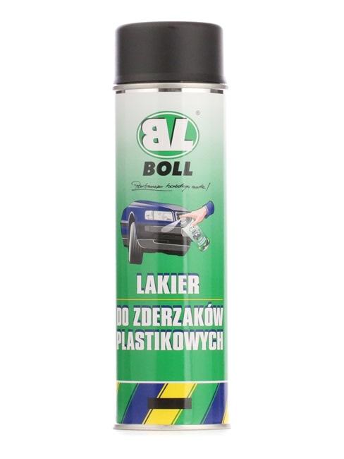 Stoßstangenfarbe BOLL 001016 für Auto (Sprühdose, Inhalt: 500ml, schwarz)