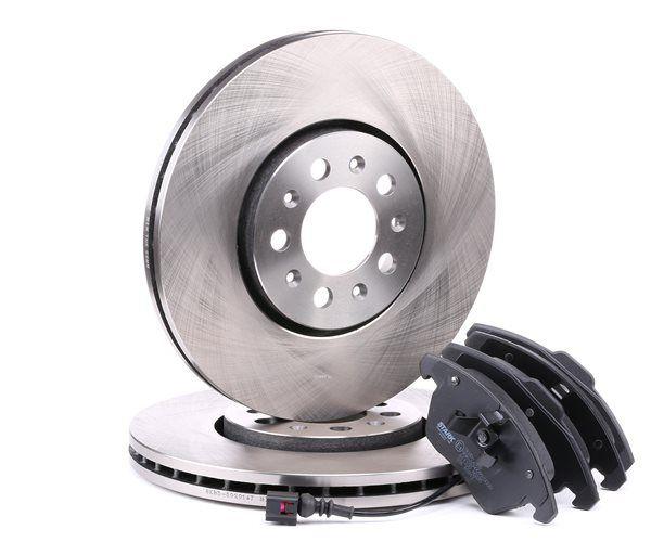 Bremsensatz, Scheibenbremse Bremsscheibendicke: 25mm, 20,6mm mit OEM-Nummer 6R0615301D