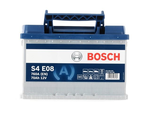 BOSCH Starterbatterie 0 092 S4E 081