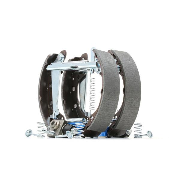 RIDEX Hinterachse, 40mm, mit Radbremszylinder, mit Zubehör 3859B0002
