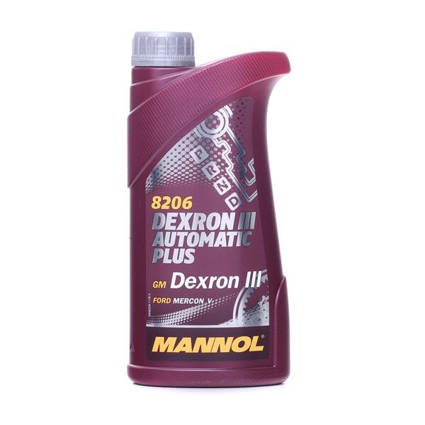 MANNOL Automatic Plus, Dexron III Inhalt: 1l, ALLISON C4, ALLISON TES 389 MN82061