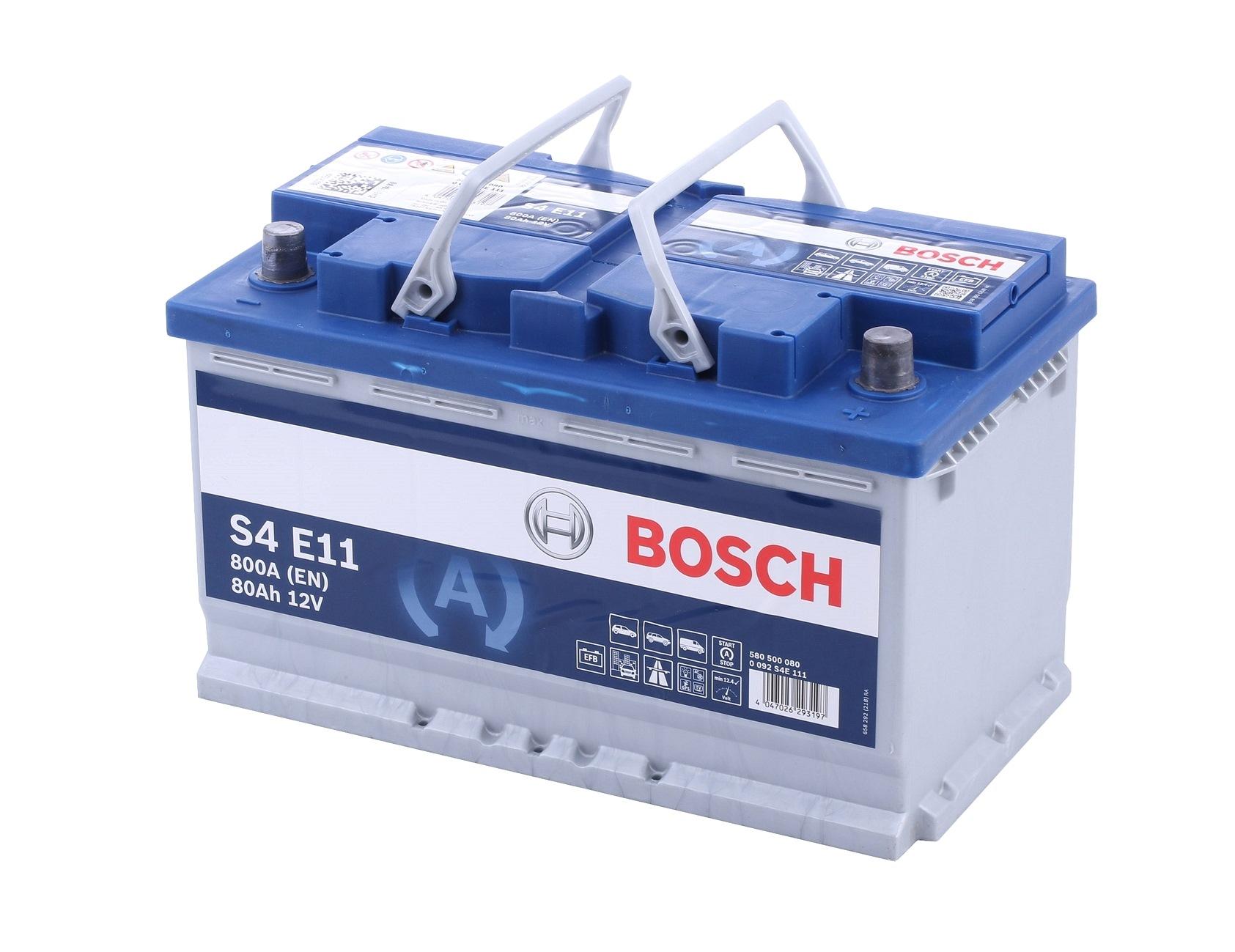 Batterie BOSCH S4E11 Bewertung