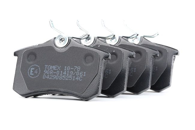 Bremsbelagsatz, Scheibenbremse Breite: 87mm, Höhe: 52,9mm, Dicke/Stärke: 15mm mit OEM-Nummer 8E0 698 451B
