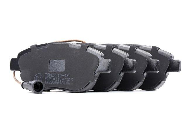 Bremsbelagsatz, Scheibenbremse Höhe: 57,4mm, Dicke/Stärke: 19mm mit OEM-Nummer 7 736 271 2