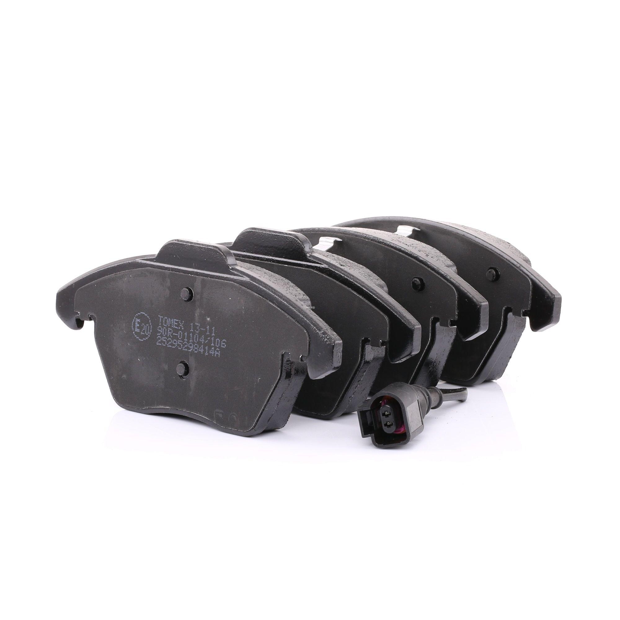 Bremsbelagsatz TOMEX brakes 23588 Bewertung