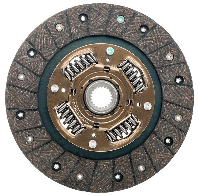 OEM Clutch Disc RIDEX 262C0066