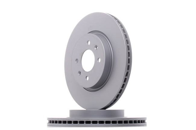 Brake discs and rotors ATE 422294 Vented, Coated, Alloyed / High-carbon