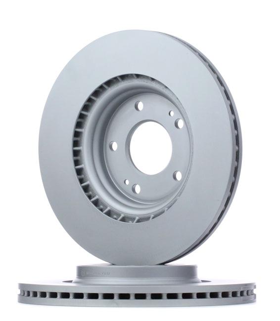 OEM ATE 24.0125-0213.1 HYUNDAI i10 Brake rotors set