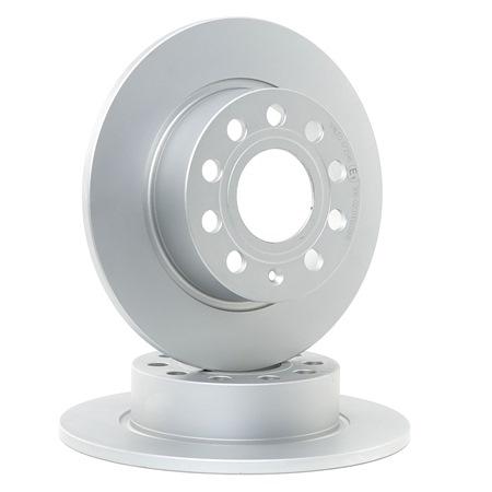 Bremsscheibe Bremsscheibendicke: 10mm, Felge: 9-loch, Ø: 253mm mit OEM-Nummer 5C0 615 601