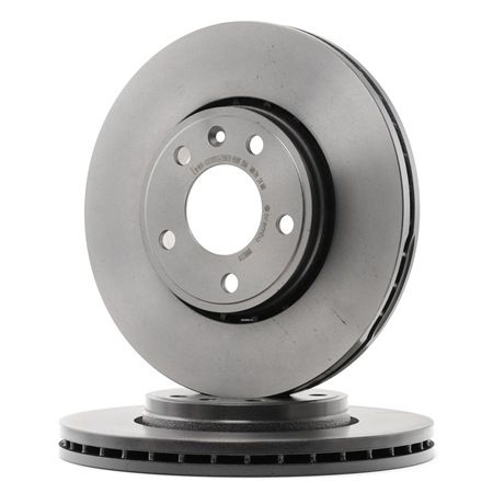 Brake discs and rotors BREMBO 13801711 Internally Vented, Coated, High-carbon, with screws