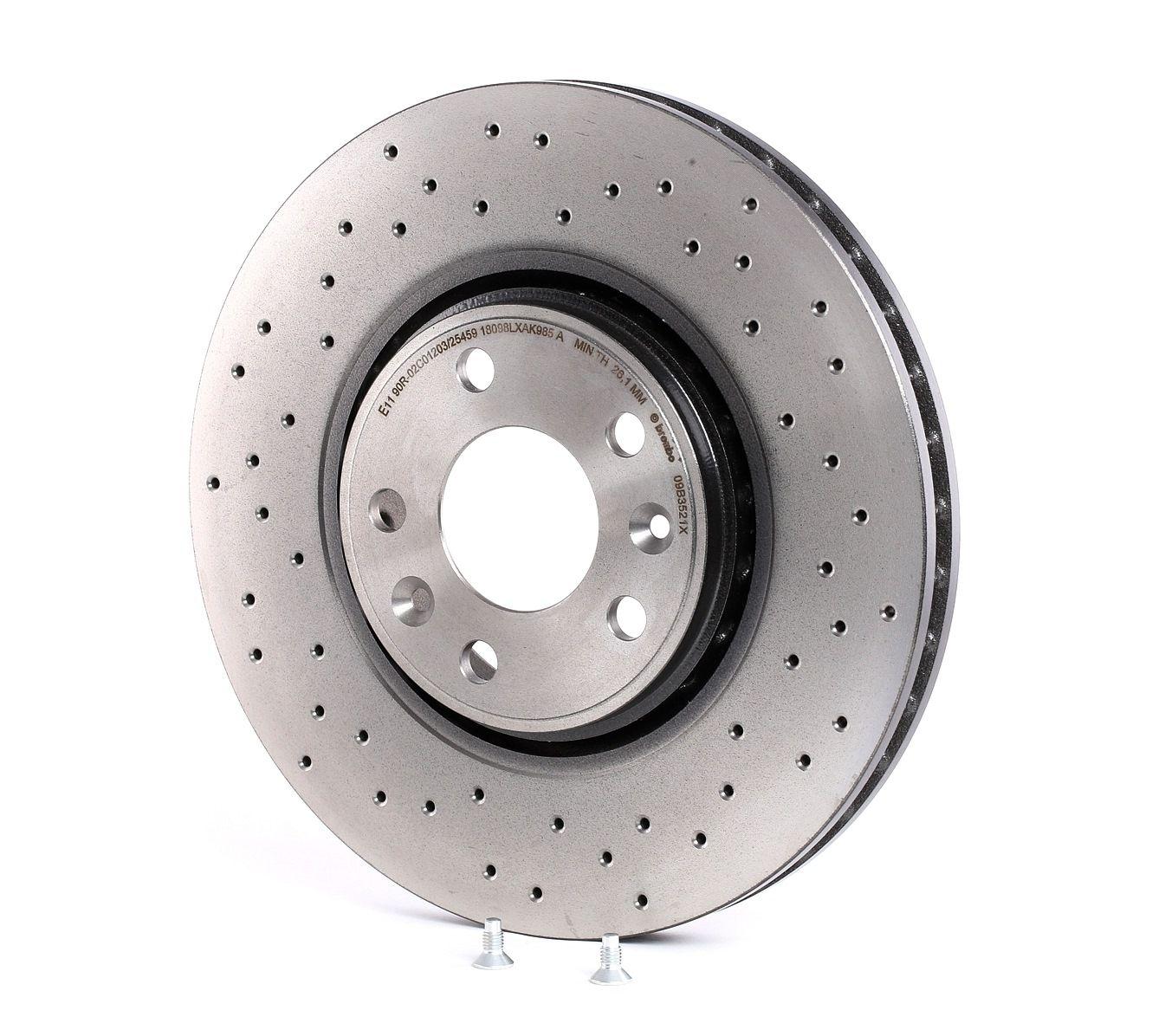 Brake Rotors BREMBO 09.B352.1X rating