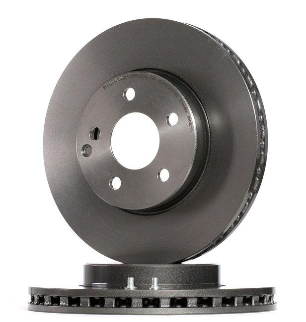 Frenos de disco BREMBO 13801759 Ventilación interna, revestido, altamente carbonizado, con tornillos