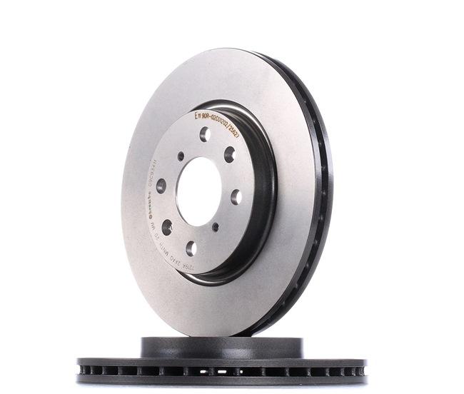 BREMBO 09C93411 Disc brake set