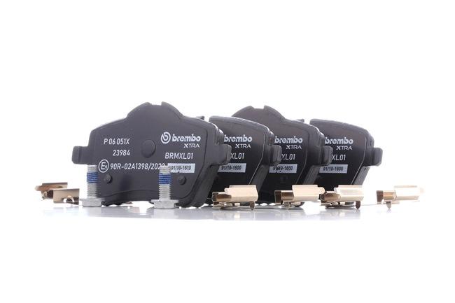 OEM Brake Pad Set, disc brake BREMBO D12048324 for MINI