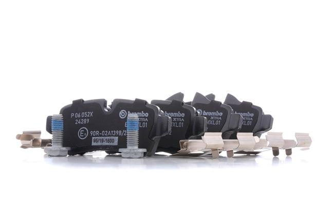OEM Brake Pad Set, disc brake BREMBO D13098424 for MINI