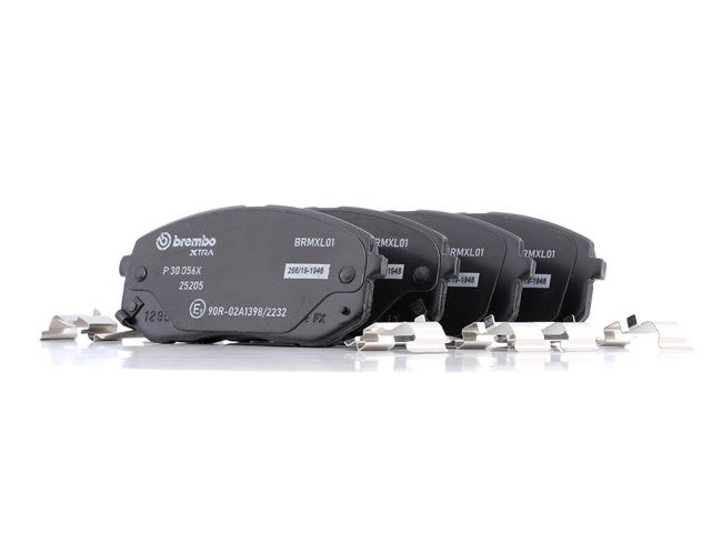 OEM Brake Pad Set, disc brake BREMBO D12958614 for HYUNDAI
