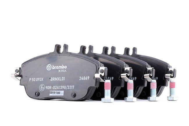 OEM Brake Pad Set, disc brake BREMBO D16948920 for INFINITI