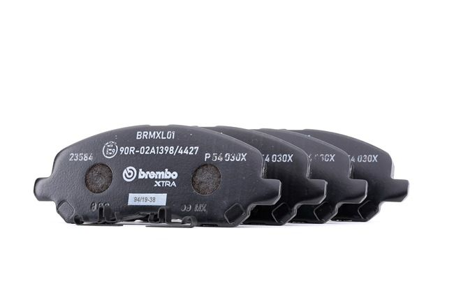 OEM Brake Pad Set, disc brake BREMBO D8667741 for MITSUBISHI