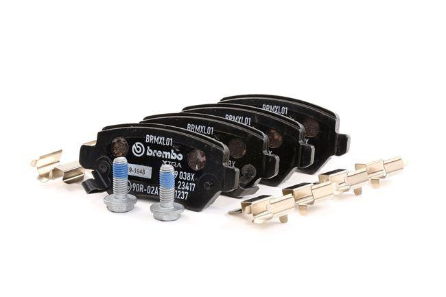 OEM Brake Pad Set, disc brake BREMBO D20549287 for KIA
