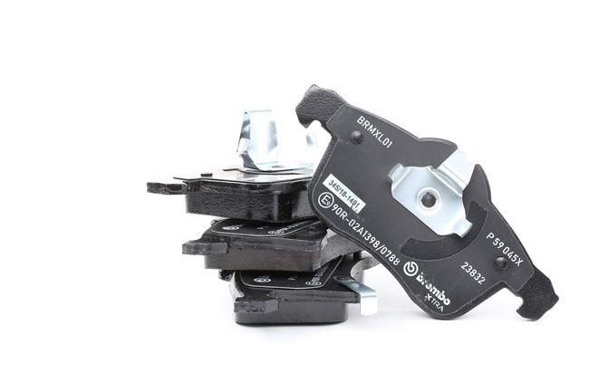 OEM Brake Pad Set, disc brake BREMBO D13618470 for CHEVROLET