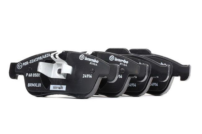 OEM Brake Pad Set, disc brake BREMBO D16278844 for DACIA