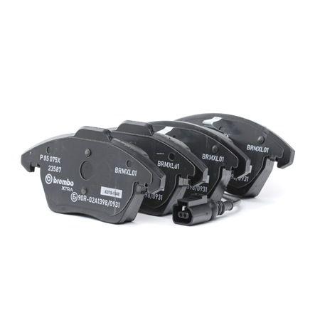 OEM Brake Pad Set, disc brake BREMBO D11078212 for SKODA