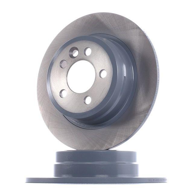 FEBI BILSTEIN Комплект спирачни дискове ROVER задна ос, плътен, с покритие