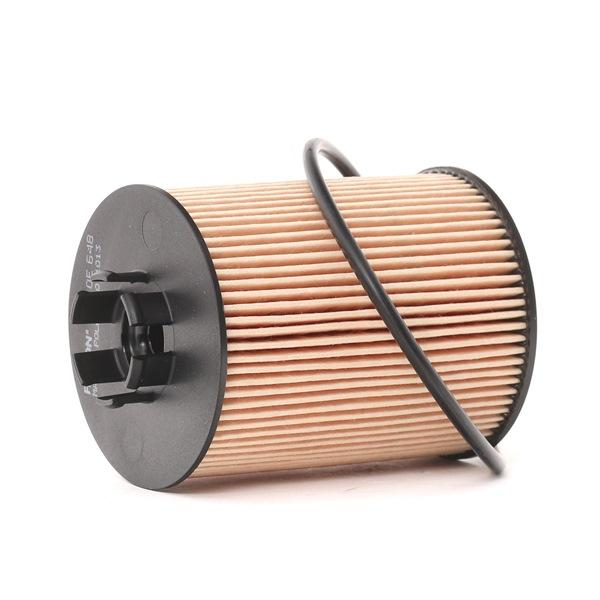 Ölfilter Innendurchmesser 2: 28mm, Innendurchmesser 2: 30,5mm, Höhe: 88,5mm mit OEM-Nummer 90543378