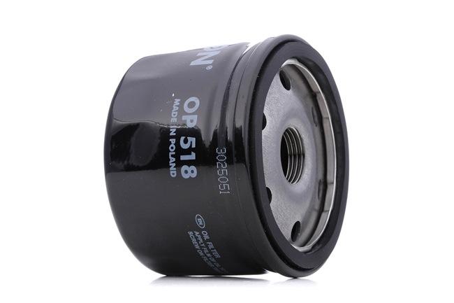 Oil Filter Ø: 75mm, Inner Diameter 2: 69,5mm, Inner Diameter 2: 62mm, Height: 58mm with OEM Number 71736169