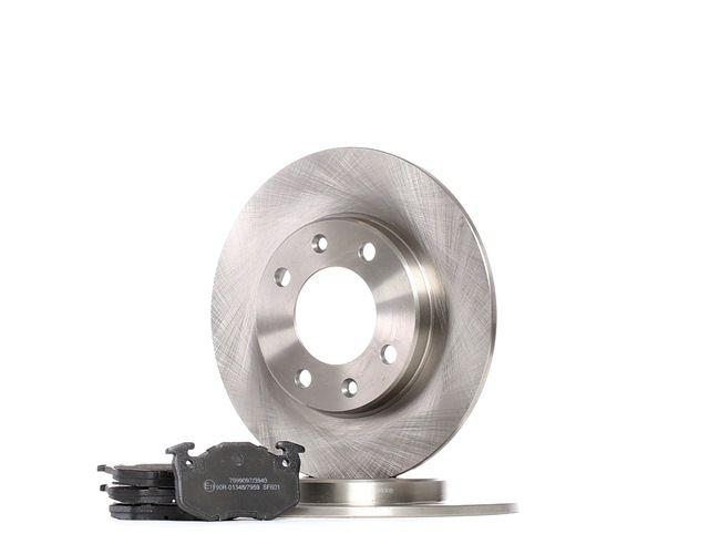 OEM Brake Set, disc brakes RIDEX 3405B0330