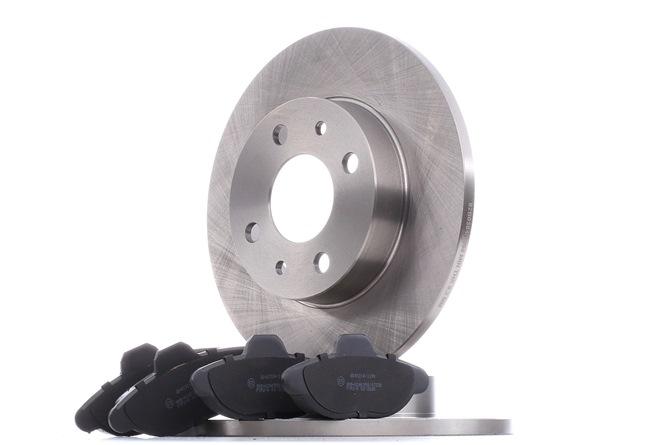Brake Set, disc brakes 3405B0348 PANDA (169) 1.2 MY 2021