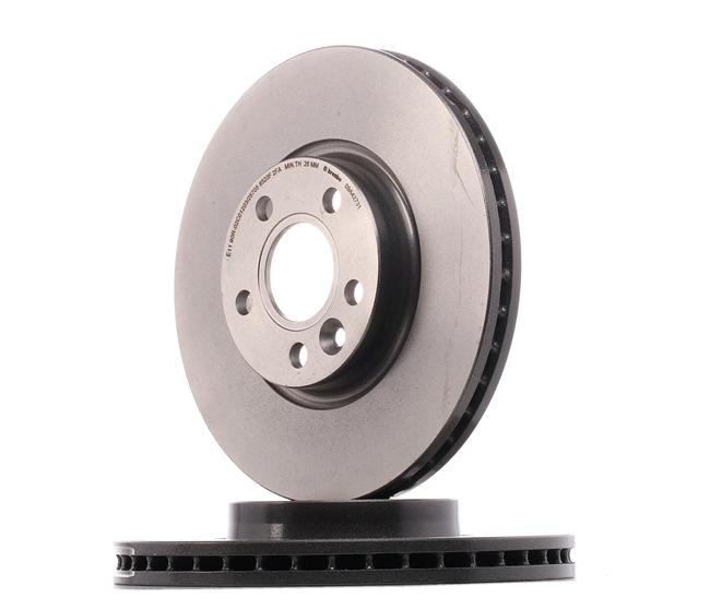Bremsscheibe Bremsscheibendicke: 28mm, Lochanzahl: 5, Ø: 300mm mit OEM-Nummer 31 341 382