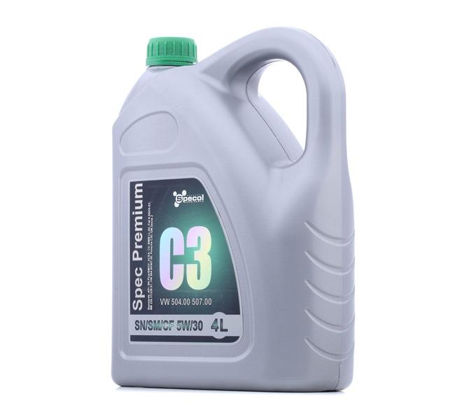 Двигателно масло 5W-30, съдържание: 4литър EAN: 5902311103201