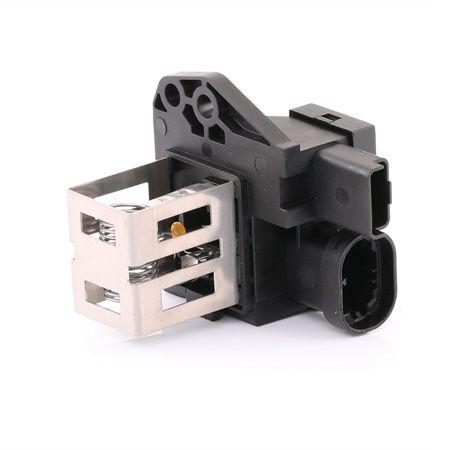 OEM Pre-resistor, electro motor radiator fan RIDEX 4145R0007