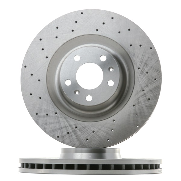 OEM RIDEX 82B1813 VW PHAETON Disc brake set