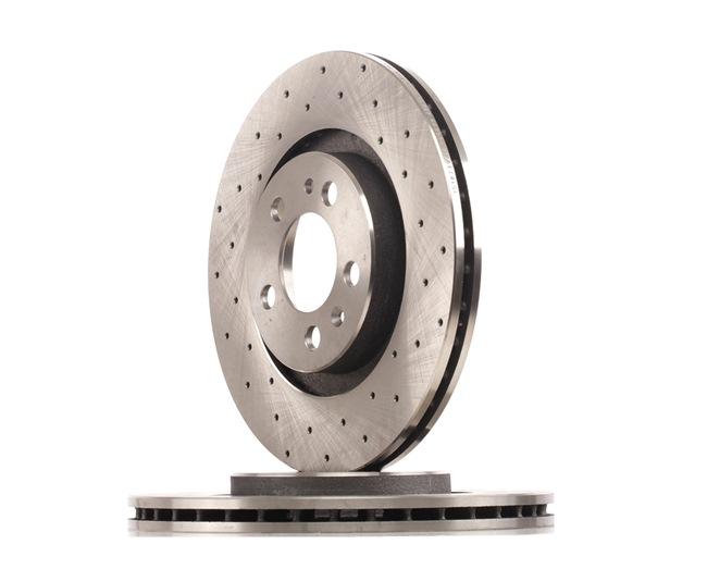 Bremsscheibe Bremsscheibendicke: 22mm, Ø: 280mm mit OEM-Nummer 1J0 615 301 M