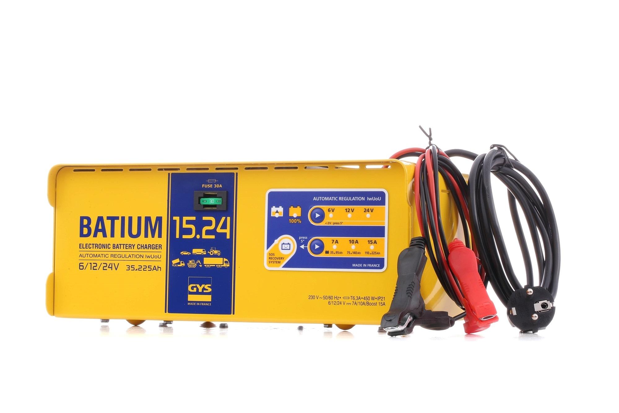Chargeur de batterie GYS 024526 évaluation
