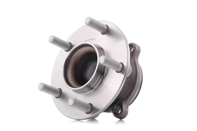 Axle shaft bearing RIDEX 14756534 Rear Axle, Wheel Bearing integrated into wheel hub