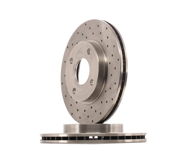 Brake discs and rotors RIDEX 14759122 Internally Vented, Perforated