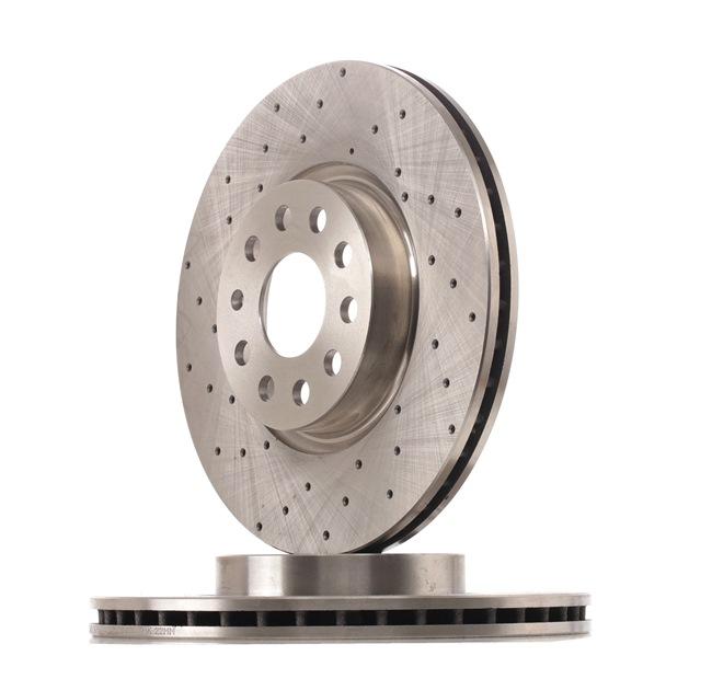 OEM RIDEX 82B2130 VW PHAETON Brake discs and rotors