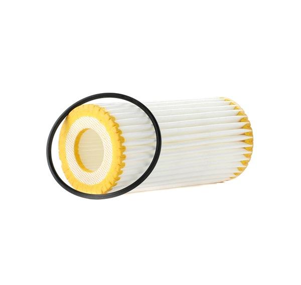 Ölfilter Ø: 52,5mm, Innendurchmesser 2: 23,9mm, Höhe 1: 112,0mm mit OEM-Nummer 06K115562
