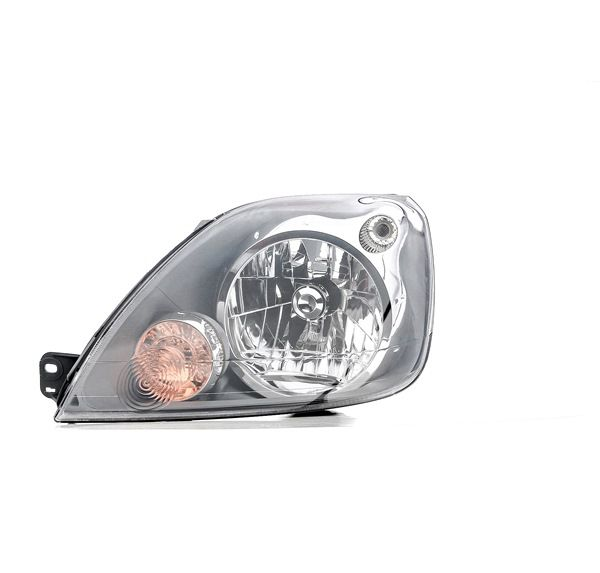 Headlamps TYC 1501744 Left, H4, with electric motor