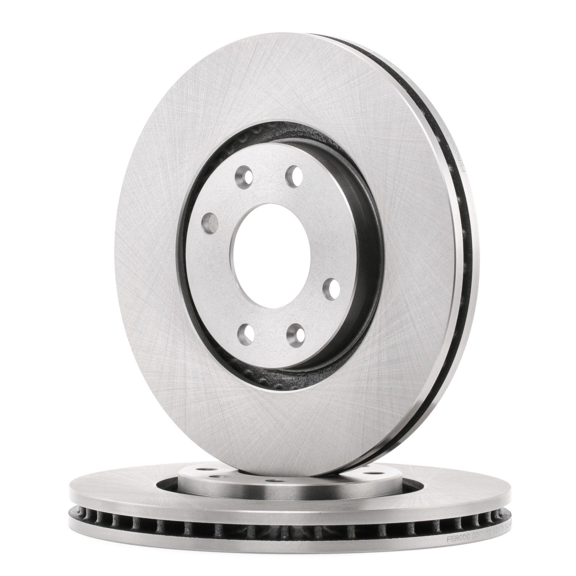Disco de freno FERODO DDF1152C evaluación