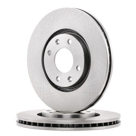 FERODO Спирачен диск вентилиран, с винтове