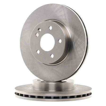 Frenos de disco FERODO DDF1203C ventilado, con tornillos